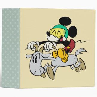French Mickey | Happy on Vespa Vinyl Binders