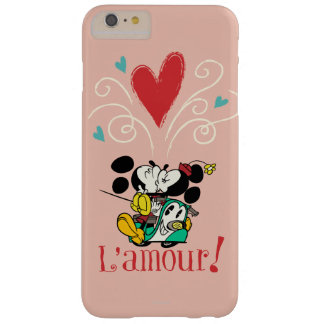 French Mickey   L'amour Barely There iPhone 6 Plus Case