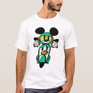 French Mickey | Straight Ahead in Vespa T-Shirt