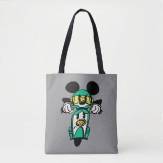 French Mickey | Straight Ahead in Vespa Tote Bag