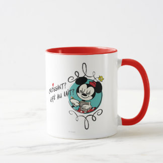 French Minnie | Croissant Mug