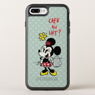 French Minnie   Minnie with Teapot OtterBox Symmetry iPhone 7 Plus Case