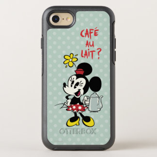 French Minnie | Minnie with Teapot OtterBox Symmetry iPhone 8/7 Case