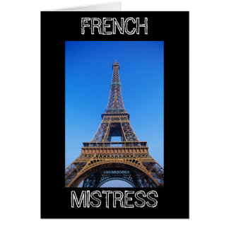 FRENCH MISTRESS CARD