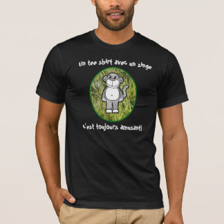 French - Monkey t-shirts are always funny