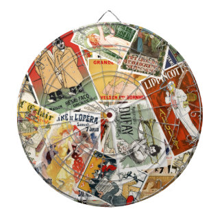 french montage 2 dartboard