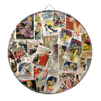 French Montage design 2 Dartboard