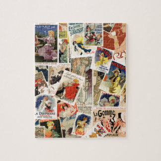French Montage design 2 Jigsaw Puzzle