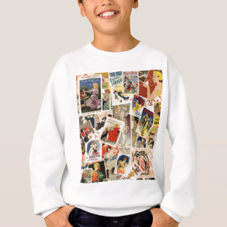 French Montage design 2 Sweatshirt