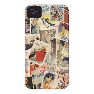 French Montage iPhone 4 Case-Mate Case