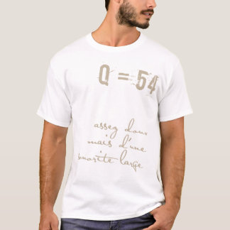 French Music Number Tee