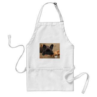 French one. Bulldogge apron