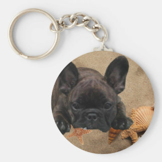 French one. Bulldogge key supporter Keychain
