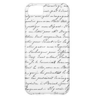 French Paris Script iPhone 5C Cover
