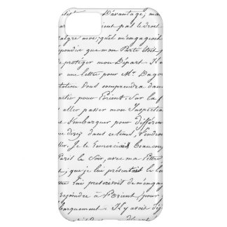 French Paris Script iPhone 5C Case