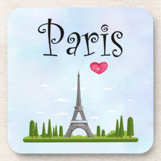 French Paris with Eiffel Tower Coaster