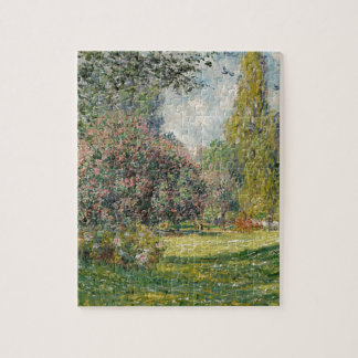 French park during the day jigsaw puzzle