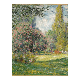 French park during the day letterhead