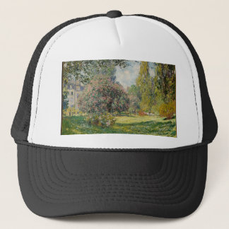 French park during the day trucker hat