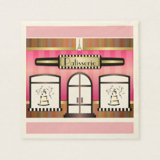 French Patisserie Paper Napkins