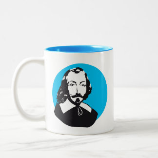 French people Quebec Samuel Champlain quotation Two-Tone Coffee Mug