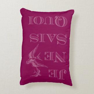 French phrase 'je ne sais quoi' certain something accent pillow