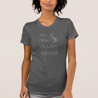French phrase 'je ne sais quoi' certain something tee shirts