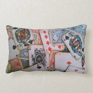 """""""French Playing Cards"""" Pillow"""