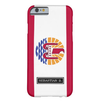 French Polenysia flag Barely There iPhone 6 Case