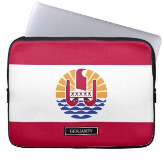 French Polenysia flag Laptop Sleeve