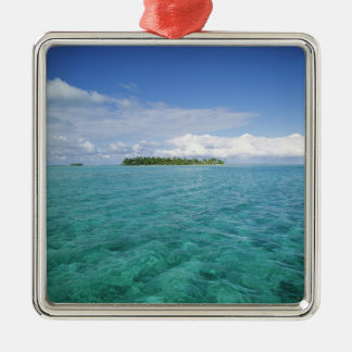 FRENCH POLYNESIA, Bora Bora. Metal Ornament