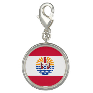 French Polynesia Flag Charm