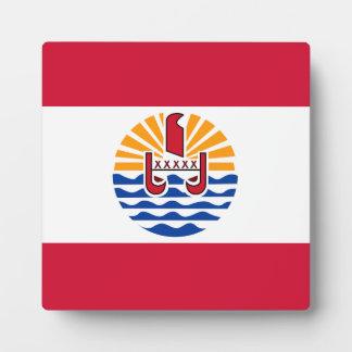 French Polynesia Flag Plaque