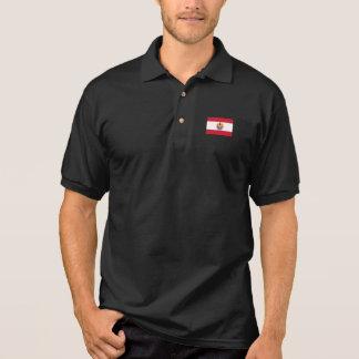 French Polynesia Flag Polo Shirt