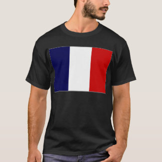 French Polynesia French National Flag T-Shirt
