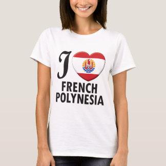 French Polynesia Love T-Shirt