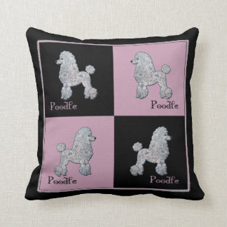 French Poodle Pillow