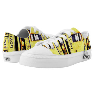 French Postbox Low-Top Sneakers