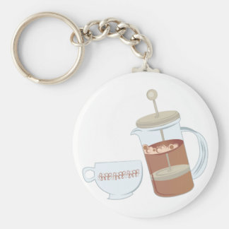 French Press Keychain