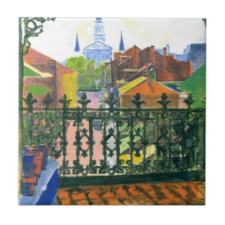French Quarter Balcony Tile