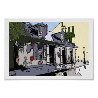 French Quarter Black Smith Shop, Poster