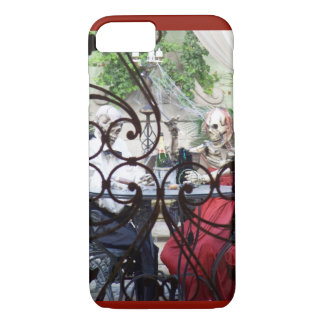 French Quarter Dinner style iPhone 7 Case