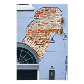 french Quarter Facade Photo Print