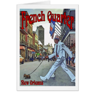 French Quarter, New Orleans Card