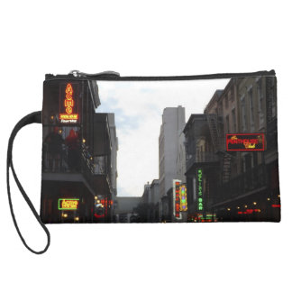 French Quarter Night Falling/Morning Haze Wristlet Clutches