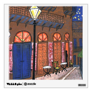 French Quarter Print Wall Sticker