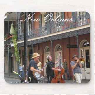 French Quarter Street Scene Mouse Pad