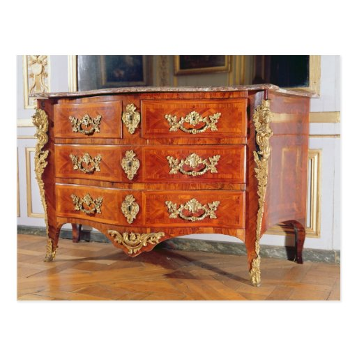 French Regency commode, c.1720 Post Cards