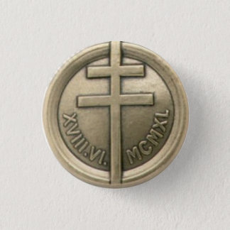 French Resistance Medal 1 Inch Round Button