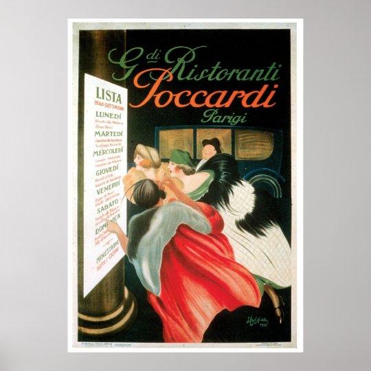 Vintage French Food Drink Advert Restaurant Poster Gift Art Print A4 B1 Framed